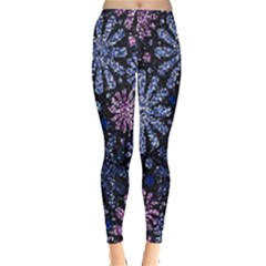 Pixel Pattern Colorful And Glittering Pixelated Leggings