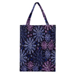 Pixel Pattern Colorful And Glittering Pixelated Classic Tote Bag