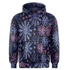Pixel Pattern Colorful And Glittering Pixelated Men s Pullover Hoodie