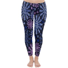 Pixel Pattern Colorful And Glittering Pixelated Classic Winter Leggings