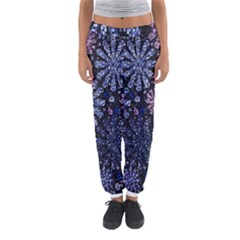 Pixel Pattern Colorful And Glittering Pixelated Women s Jogger Sweatpants