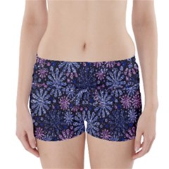 Pixel Pattern Colorful And Glittering Pixelated Boyleg Bikini Wrap Bottoms
