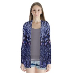 Pixel Pattern Colorful And Glittering Pixelated Cardigans