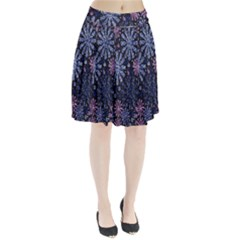 Pixel Pattern Colorful And Glittering Pixelated Pleated Skirt