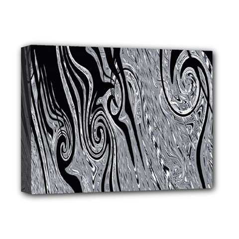 Abstract Swirling Pattern Background Wallpaper Deluxe Canvas 16  x 12