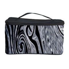 Abstract Swirling Pattern Background Wallpaper Cosmetic Storage Case