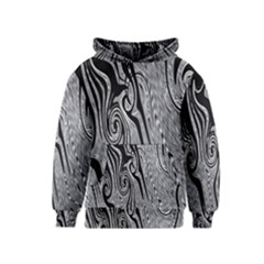 Abstract Swirling Pattern Background Wallpaper Kids  Pullover Hoodie
