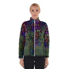 Grunge Rose Background Pattern Winterwear
