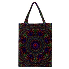 Rainbow Kaleidoscope Classic Tote Bag