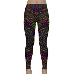 Rainbow Kaleidoscope Classic Yoga Leggings