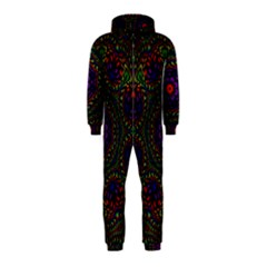 Rainbow Kaleidoscope Hooded Jumpsuit (Kids)