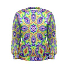 Rainbow Kaleidoscope Women s Sweatshirt