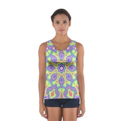 Rainbow Kaleidoscope Women s Sport Tank Top