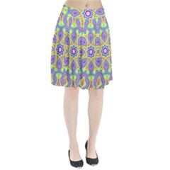 Rainbow Kaleidoscope Pleated Skirt