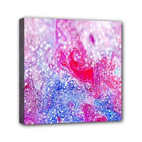 Glitter Pattern Background Mini Canvas 6  X 6