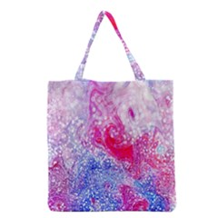 Glitter Pattern Background Grocery Tote Bag