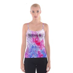 Glitter Pattern Background Spaghetti Strap Top