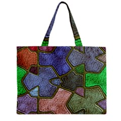 Background With Color Kindergarten Tiles Mini Tote Bag