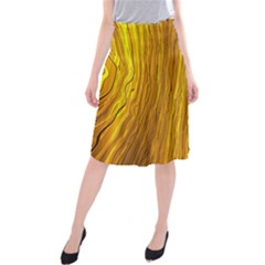 Light Doodle Pattern Background Wallpaper Midi Beach Skirt