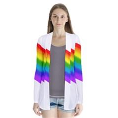 Watercolour Rainbow Colours Cardigans