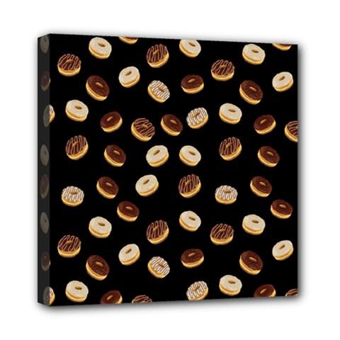 Donuts pattern Mini Canvas 8  x 8