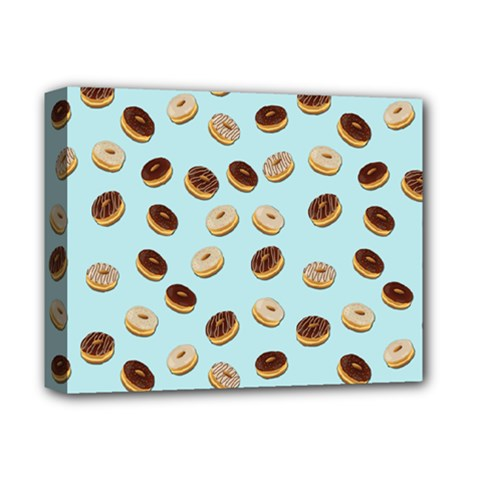 Donuts pattern Deluxe Canvas 14  x 11