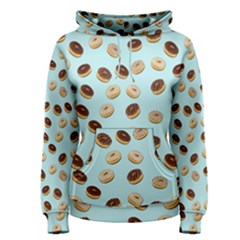 Donuts pattern Women s Pullover Hoodie