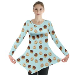 Donuts pattern Long Sleeve Tunic