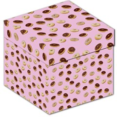 Donuts pattern Storage Stool 12