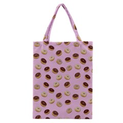 Donuts pattern Classic Tote Bag