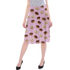 Donuts pattern Midi Beach Skirt