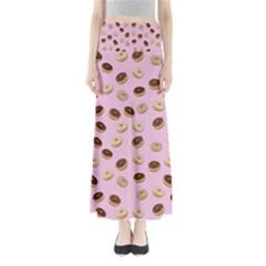 Donuts pattern Maxi Skirts