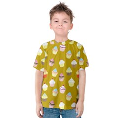 Cupcakes pattern Kids  Cotton Tee