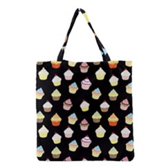 Cupcakes pattern Grocery Tote Bag