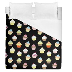 Cupcakes pattern Duvet Cover (Queen Size)