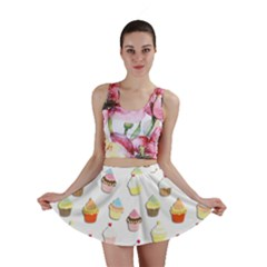 Cupcakes pattern Mini Skirt