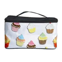 Cupcakes pattern Cosmetic Storage Case