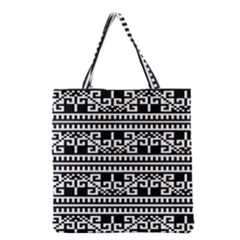 Traditional Draperie Grocery Tote Bag