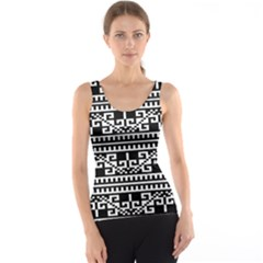 Traditional Draperie Tank Top
