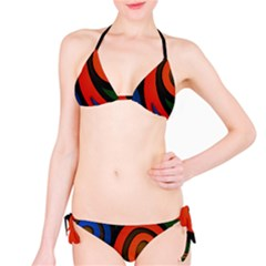 Simple Batik Patterns Bikini Set