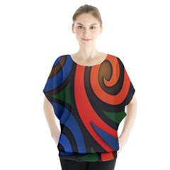 Simple Batik Patterns Blouse