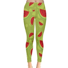 Watermelon Fruit Patterns Leggings
