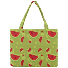 Watermelon Fruit Patterns Mini Tote Bag