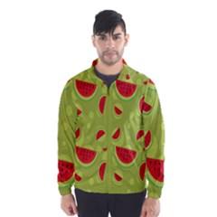 Watermelon Fruit Patterns Wind Breaker (men)