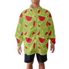 Watermelon Fruit Patterns Wind Breaker (Kids)