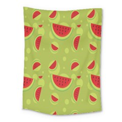 Watermelon Fruit Patterns Medium Tapestry