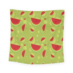 Watermelon Fruit Patterns Square Tapestry (Small)