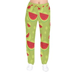 Watermelon Fruit Patterns Drawstring Pants