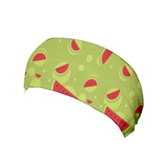 Watermelon Fruit Patterns Yoga Headband