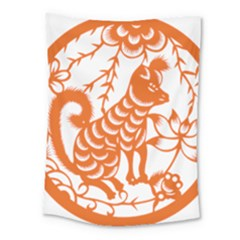 Chinese Zodiac Dog Medium Tapestry